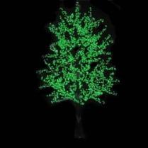 Led дерево зеленое «Липа»