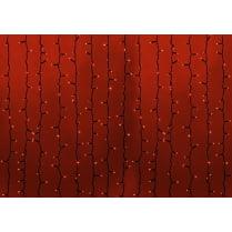 Светодиодный занавес RICH LED с мерцанием 600LED 2x3м красный