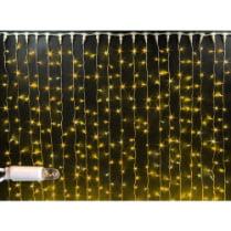 Светодиодный занавес с герметичным колпачком Rich LED 2х1.5м желтый