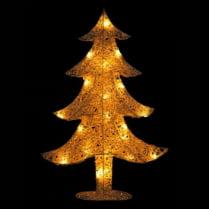 Световая фигура «Заснеженная елка»