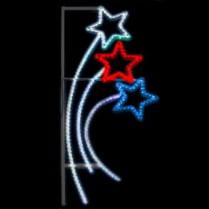 Вертикальное панно «Салют»