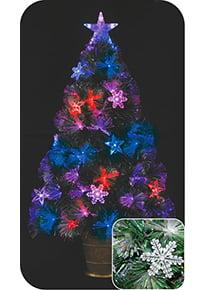 Ёлка светодиодная фиброоптическая «Новогодняя»