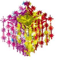 Подвеска из фольги «Люстра снежная»
