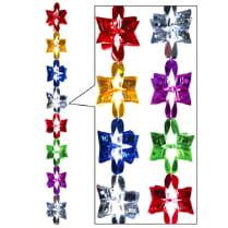 Подвеска-растяжка из фольги «Разноцветные звезды»