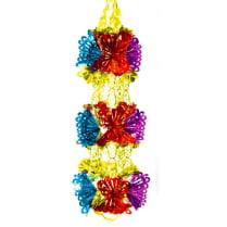 Подвеска-растяжка из фольги «Три цветка»