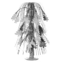 Настольный фонтанчик «Ёлочка» серебряная, высота 40 см
