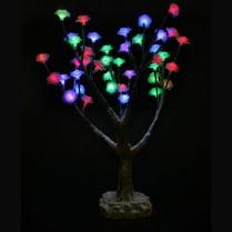 Led дерево «Цветы заснеженные»