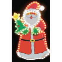 Led фигура «Дед Мороз с елкой»