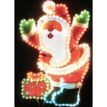 Led фигура «Дед Мороз с подарком»