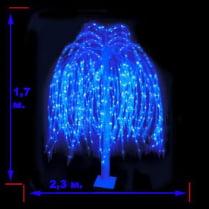 Дерево «Ива плакучая синяя»