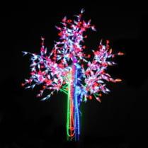 Светодиодное дерево «Ива цветущая»