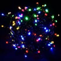 Светодиодная гирлянда 100LED RGB 10м