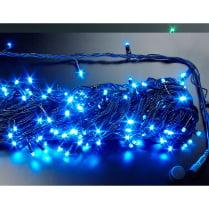 Светодиодная гирлянда с герметичным колпачком 10м 100LED, цвет синий