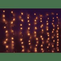Световой занавес 3x2м 300 микроламп, цвет теплый белый