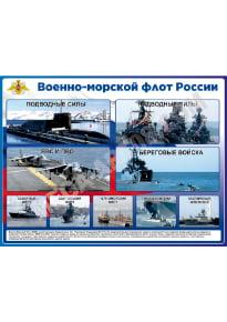 Стенд «Военно-морской флот России»