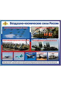 Стенд «Воздушно-космические силы России»