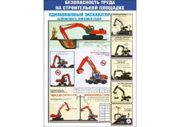 Стенд «Однокошковый экскаватор»