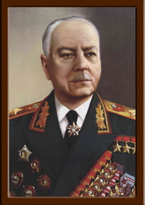 Портрет Ворошилов К.Е.