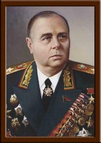 Портрет Мерецков К.А.