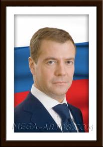 Портрет Медведев Д.А.