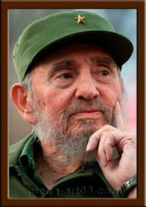 Портрет Фидель Кастро