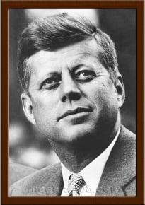 Портрет Джон Кеннеди