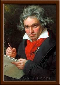 Портрет Людвиг ван Бетховен