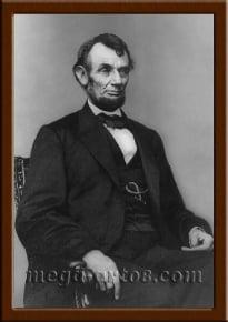 Портрет Авраам Линкольн