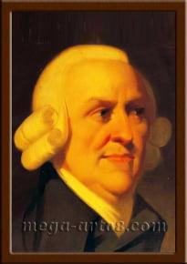 Портрет Адам Смит