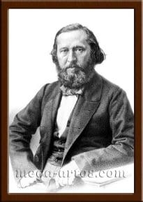 Портрет Аксаков К.С.