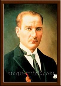 Портрет Ататюрк М.К.