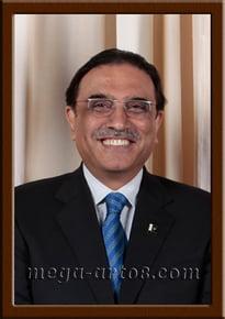 Портрет Асиф Али Зардари