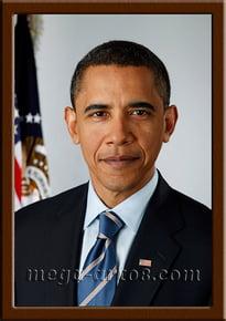 Портрет Барак Обама