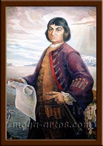 Портрет Беринг В.И.