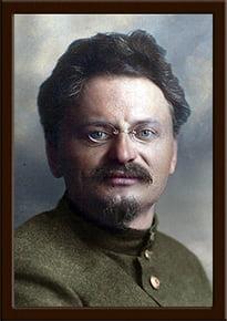 Портрет Троцкий Л.Д.