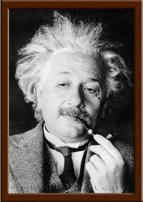 Портрет Альберт Эйнштейн