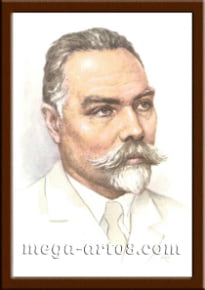 Портрет Брюсов В.Я.