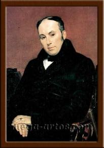 Портрет Жуковский В.А.
