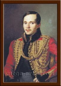 Портрет Лермонтов М.Ю.