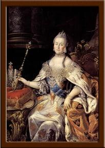 Портрет Екатерина II