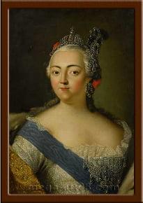 Портрет Елизавета Петровна