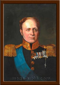 Портрет Александр I