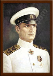 Портрет Колчак А.В.