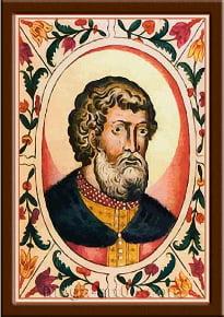 Портрет Всеволод II Ольгович