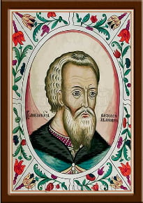 Портрет Василий III Иванович