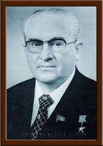 Портрет Андропов Ю.В.