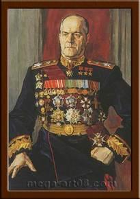 Портрет Жуков Г.К.