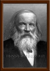 Портрет Менделеев Д.И.