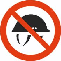 Знак «Без каски нельзя»