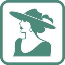 Знак «Женский туалет»